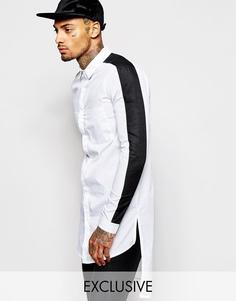 Длинная рубашка Underated - Белый