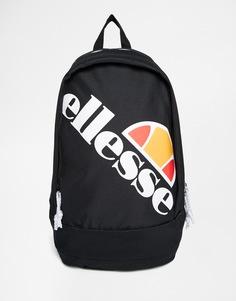 Рюкзак с логотипом Ellesse - Черный
