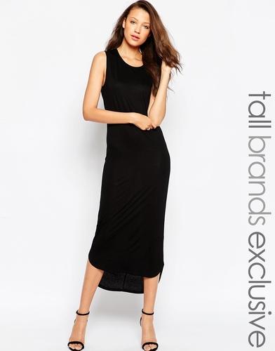 Платье-майка миди TTYA - Черный