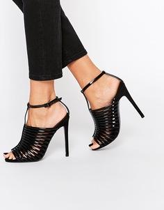 Босоножки на каблуке ASOS HUMID - Черный