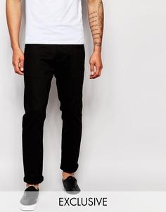 Черные прямые джинсы Liquor & Poker - Черный