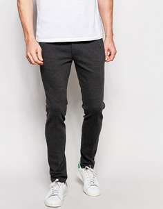 Супероблегающие трикотажные брюки ASOS - Угольный