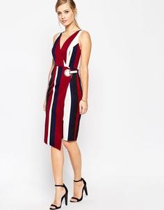 Платье-футляр в полоску ASOS - Принт