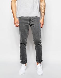Серые зауженные джинсы ASOS - Серый