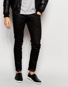 Эластичные джинсы скинни Lindbergh - Черный