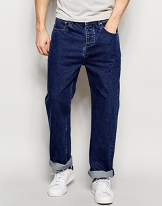 Классические синие джинсы ASOS - Умеренный синий