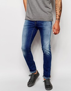 Выбеленные джинсы скинни Blend Cirrus - Светлый