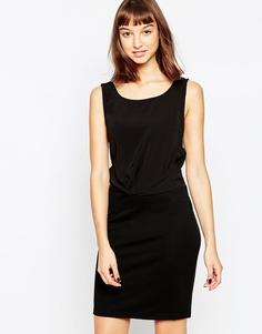 Платье-футляр без рукавов Minimum - 999 черный