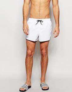 Белые короткие шорты для плавания ASOS - Белый