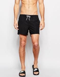 Черные короткие шорты для плавания ASOS - Черный