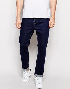 Синие стретчевые зауженные джинсы ASOS - Indigo - индиго
