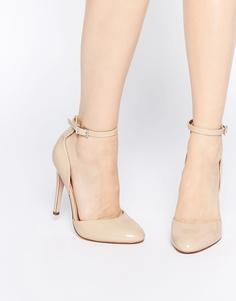 Туфли на высоком каблуке ASOS PLAYWRIGHT - Телесный