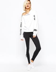 Леггинсы с контрастными вставками adidas Originals Rita Ora - Мульти