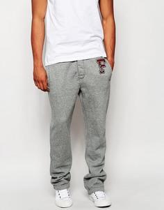 Спортивные штаны с контрастным поясом Abercrombie & Fitch F - Серый