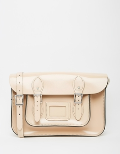 Портфель Leather Satchel Company 12.5 - Patent taupe