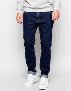 Свободные джинсы ADPT - Темный синий