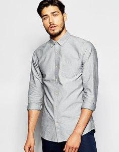 Оксфордская рубашка ADPT - Светло-серый