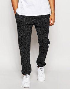 Спортивные брюки в крапинку American Apparel