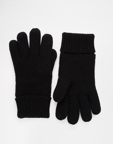 Перчатки на подкладке Esprit - Черный