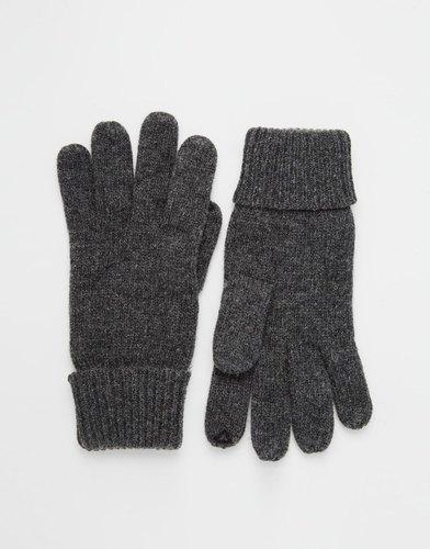 Классические трикотажные перчатки Esprit - Серый