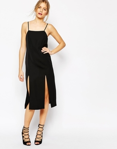 Черное платье C/meo Collective Playmate - Черный