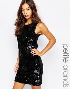 Облегающее платье с пайетками Vero Moda Petite - Черный
