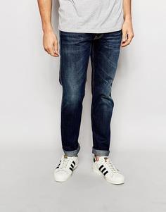 Узкие темные джинсы Replay Jeans Anbass - Темно-выбеленный