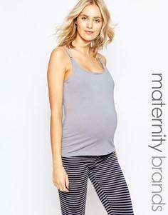 Майка для беременных Emma Jane - Серый