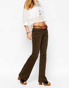 Расклешенные джинсы Esprit - Хаки