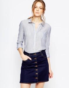 Рубашка Splendid Dockway - Темно-синий