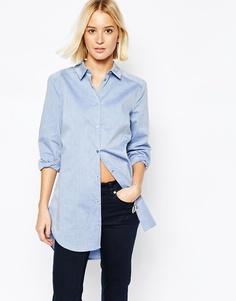 Строгая рубашка Gestuz Teresa - Светло-голубой