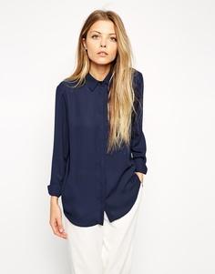 Блузка ASOS - Темно-синий