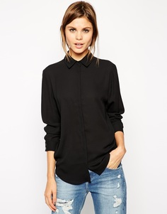 Блузка ASOS - Черный