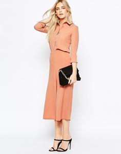 Широкие брюки Fashion Union - Розовый