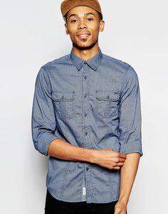 Джинсовая рубашка в полоску Tokyo Laundry - Синий