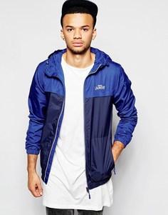 Куртка с капюшоном и вставками Tokyo Laundry - Темно-синий