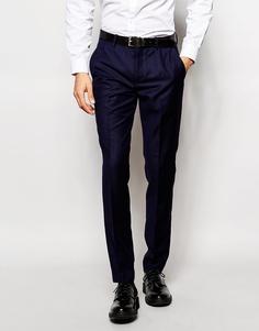 Суперзауженные стретчевые брюки Vito - Темно-синий