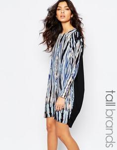 Цельнокройное платье с принтом Y.A.S Tall - Мульти