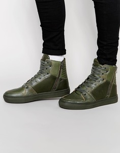 Высокие кроссовки Creative Recreation Adonis - Зеленый