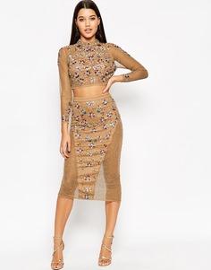 Комбинируемая юбка‑карандаш с отделкой ASOS - Мульти
