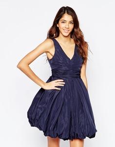 Синее платье с короткой пышной юбкой Studio 75 Darla - Вечерний синий