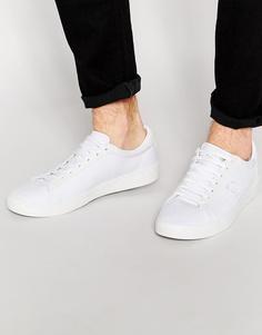 Парусиновые кроссовки Fred Perry Spencer - Белый