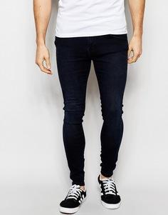 Супероблегающие темные джинсы Dr Denim Dixy - Midnight