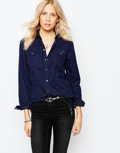 Джинсовая рубашка Pepe Jeans - Синий