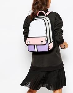 Рюкзак в стиле колор блок JumpFromPaper - Мульти