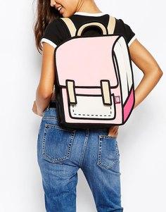 Розовый рюкзак JumpFromPaper - Розовый