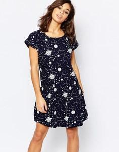 Платье-рубашка с короткими рукавами Noisy May Petite Cosmo
