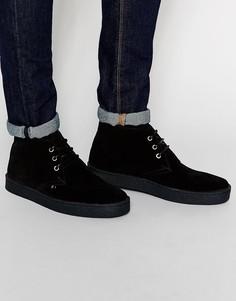 Ботинки чукка Farah Vintage - Черный