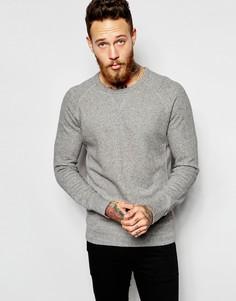 Серый свитшот с круглым вырезом Levi's - Умеренный серый вереск Levi's®