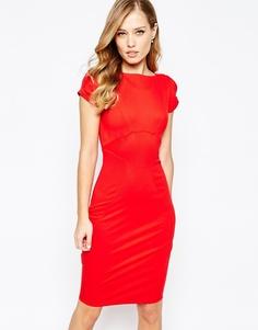 Платье-футляр Closet - Красный